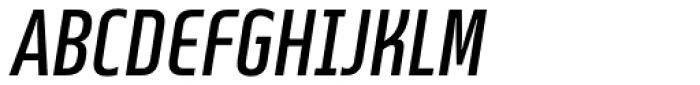 Beriot Regular Condensed Italic Font UPPERCASE