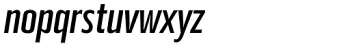 Beriot Regular Condensed Italic Font LOWERCASE