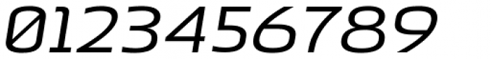 Beriot Regular Expanded Italic Font OTHER CHARS