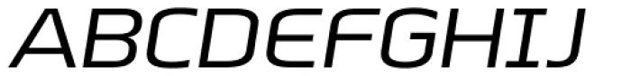 Beriot Regular Expanded Italic Font UPPERCASE