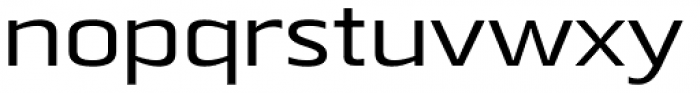 Beriot Regular Expanded Font LOWERCASE