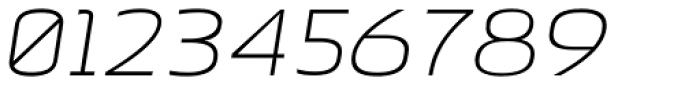 Beriot Thin Expanded Italic Font OTHER CHARS
