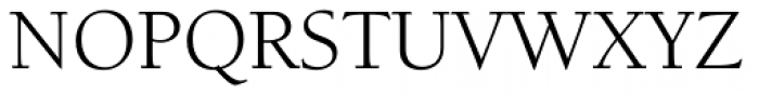 Berkeley Std Book Font UPPERCASE