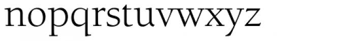 Berkeley Std Book Font LOWERCASE