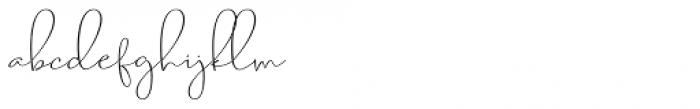 Berliant Regular Font LOWERCASE