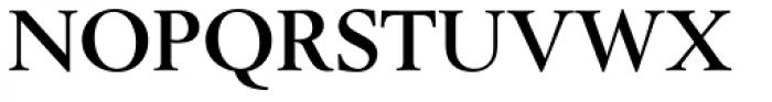 Berling EF Bold Font UPPERCASE