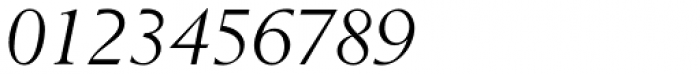 Berling EF Italic Font OTHER CHARS