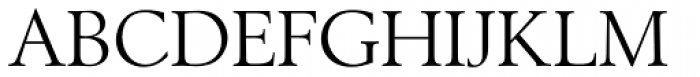 Berling EF Regular Font UPPERCASE