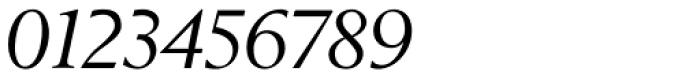 Berling Nova Display Italic Font OTHER CHARS