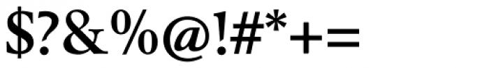Berling Nova Text Bold Font OTHER CHARS