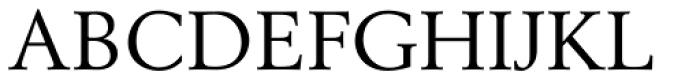 Berling Roman Font UPPERCASE