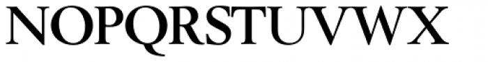Berling SH Bold Font UPPERCASE