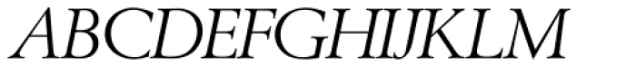 Berling SH Italic Font UPPERCASE