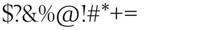 Berling SH Roman Font OTHER CHARS