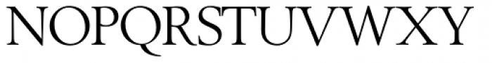 Berling SH Roman Font UPPERCASE