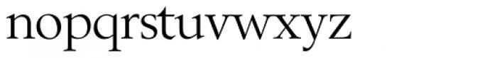 Berling SH Roman Font LOWERCASE