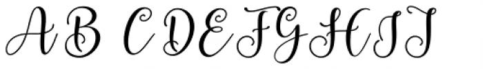 Berliyan Regular Font UPPERCASE
