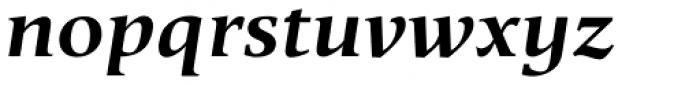 Berndal Bold Italic Font LOWERCASE
