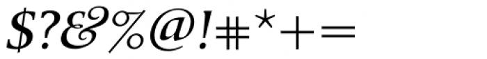 Berndal Italic Font OTHER CHARS