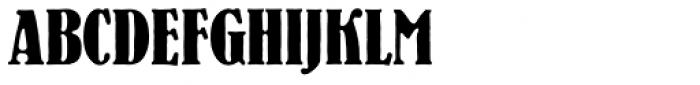 Bernhard Antique D Cond Bold Font UPPERCASE