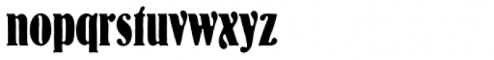 Bernhard Antique D Cond Bold Font LOWERCASE