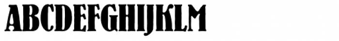 Bernhard Antique SB Bold Cond Font UPPERCASE