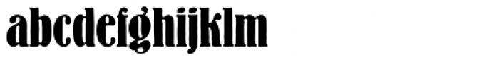Bernhard Antique SB Bold Cond Font LOWERCASE