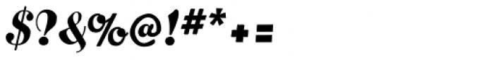 Bernhard Brushscript SG Font OTHER CHARS