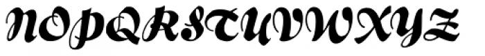 Bernhard Brushscript SG Font UPPERCASE