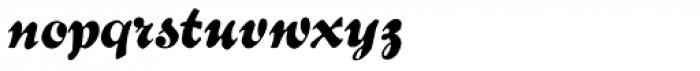 Bernhard Brushscript SG Font LOWERCASE