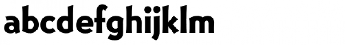 Bernhard Gothic EF Bold Font LOWERCASE
