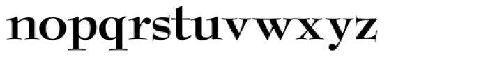 Bernhard Modern ICG Bold Font LOWERCASE