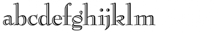 Bernhard Modern ICG Eng Font LOWERCASE