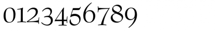 Bernhard Modern OSF Roman Font OTHER CHARS