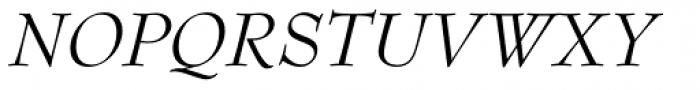 Bernhard Modern Std Italic Font UPPERCASE