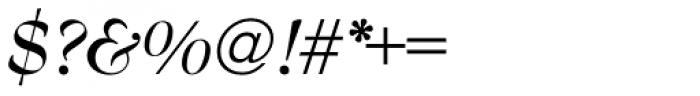 Bernhard Modern URW Bold Italic Font OTHER CHARS