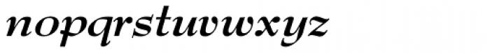 Bernhard Modern URW Bold Italic Font LOWERCASE