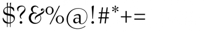 Bernhard Modern Font OTHER CHARS