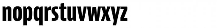 Bernino Sans Compressed ExtraBold Font LOWERCASE