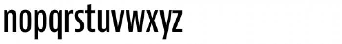 Bernino Sans Compressed SemiBold Font LOWERCASE