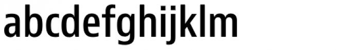 Bernino Sans Condensed SemiBold Font LOWERCASE