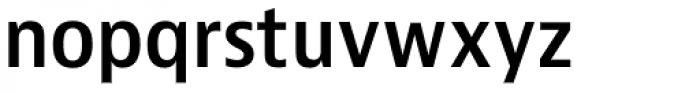 Bernino Sans Narrow SemiBold Font LOWERCASE