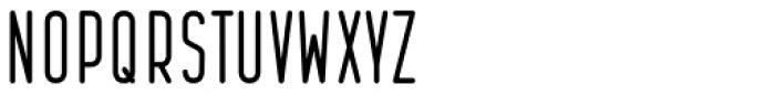 Bernound Clean Font UPPERCASE