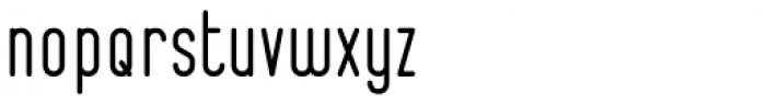 Bernound Clean Font LOWERCASE