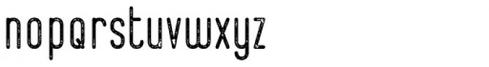 Bernound Rough Font LOWERCASE