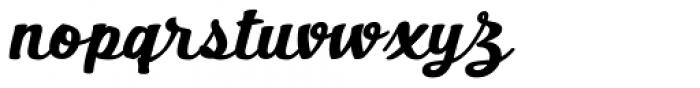 Bernyck Font LOWERCASE