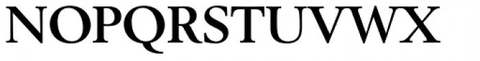 Berstrom DT Bold Font UPPERCASE