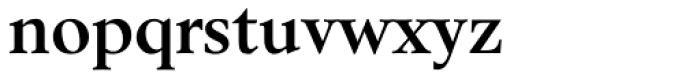 Berstrom DT Bold Font LOWERCASE