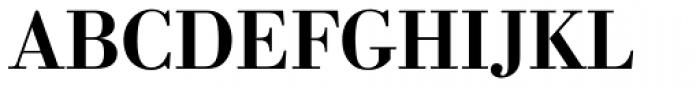 Berth Bodoni Pro Medium Font UPPERCASE