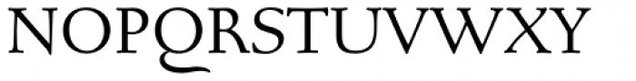 Bertham Pro Font UPPERCASE